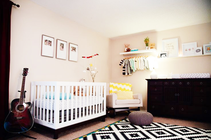 Sharing Bedroom With Baby - Decor Ideas and Inspiration on baby crib in bedroom, crib in our bedroom, nursery in guest bedroom, nursery sets and collections,