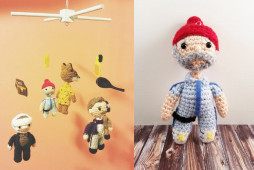 Wes Anderson Baby Mobile