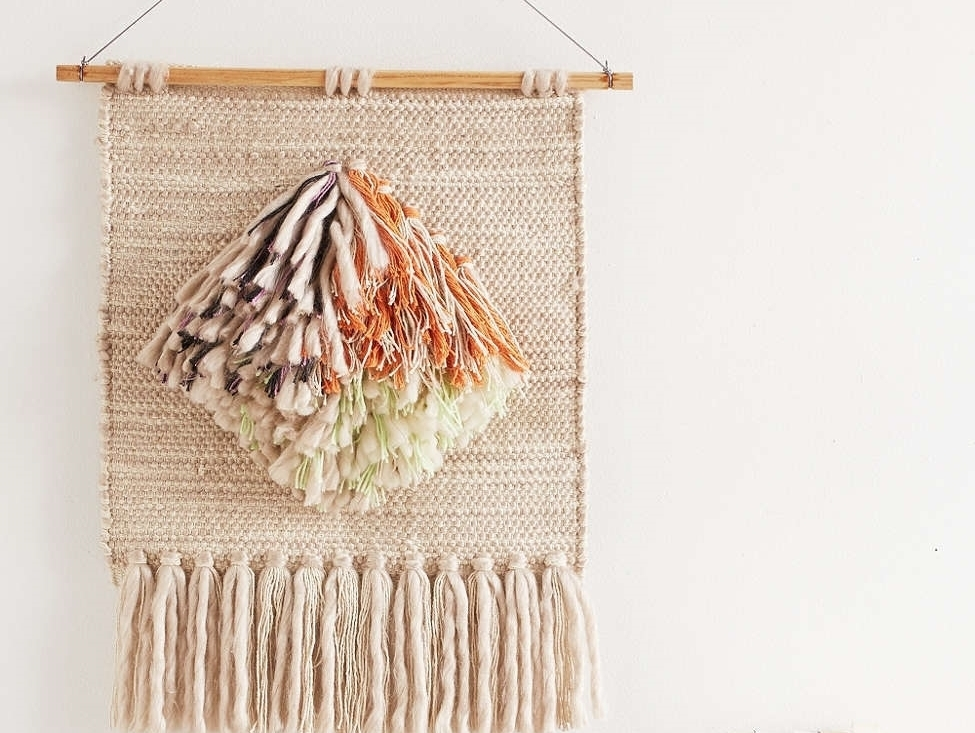 15 Chic Woven Wall Hangings - MOTHER