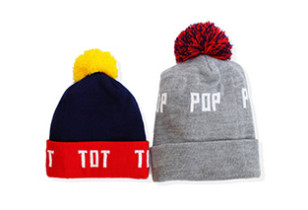 Pop and Tot Beanies