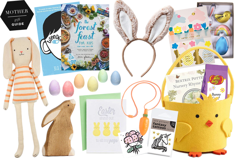 Easter gifts for kids stumped on what the easter bunny should use to fill your kids baskets this year tired of the same old candy in the egg routine we hear you negle Gallery