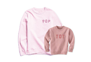 Pop and Tot Pink