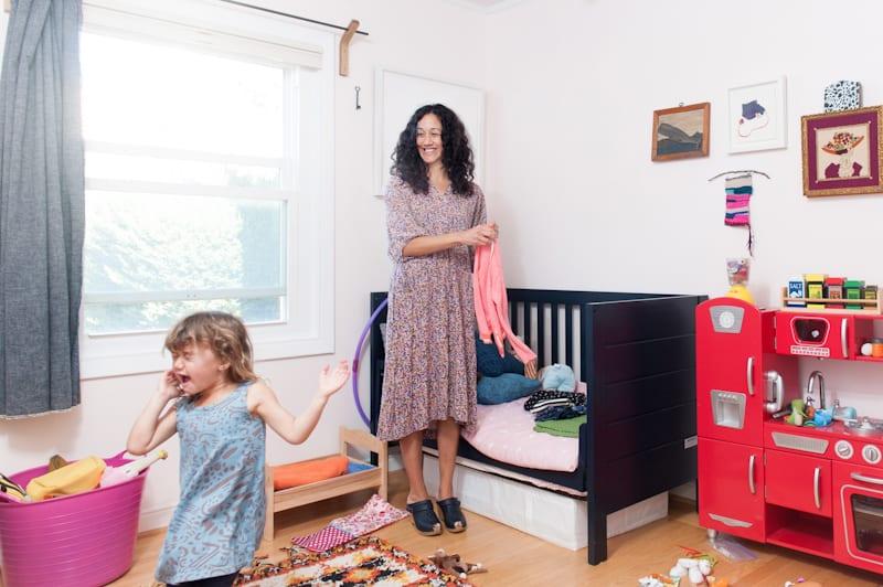 Artist Jen Garrido And Her Adorable Mini-Me, Jemma Bee