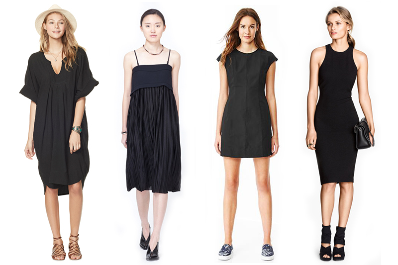 770fe57b223b What is the one quintessential wardrobe piece that almost every woman has  in common? Why, the little black dress, of course. It's the go-to garment  that you ...