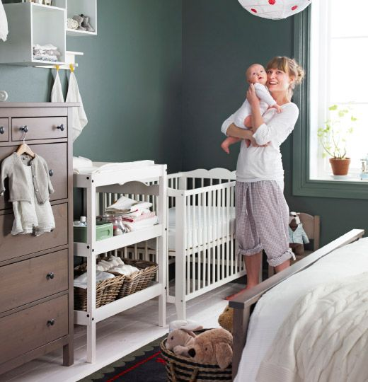Sharing bedroom with baby decor ideas and inspiration for Chambre bebe ikea