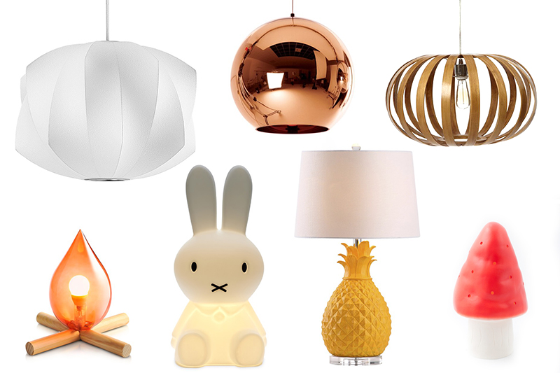 Cool Lighting To Brighten Up Your Kid S E