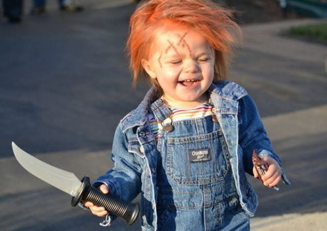 Chucky  sc 1 st  Mother Mag & The Best Baby Halloween Costumes