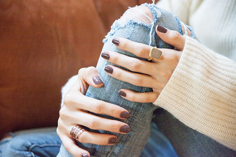 Gallery For Simple Fall Nail Colors