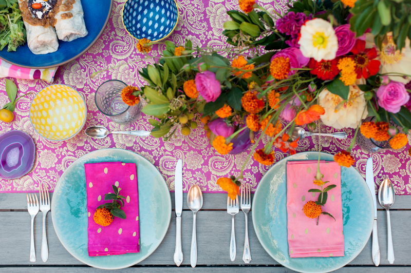 Astonishing Colorful Place Settings Ideas - Best Image Engine . & Remarkable Colorful Table Settings Gallery - Best Image Engine ...