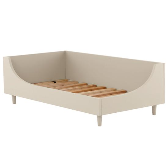 Hampshie White Toddler Bed