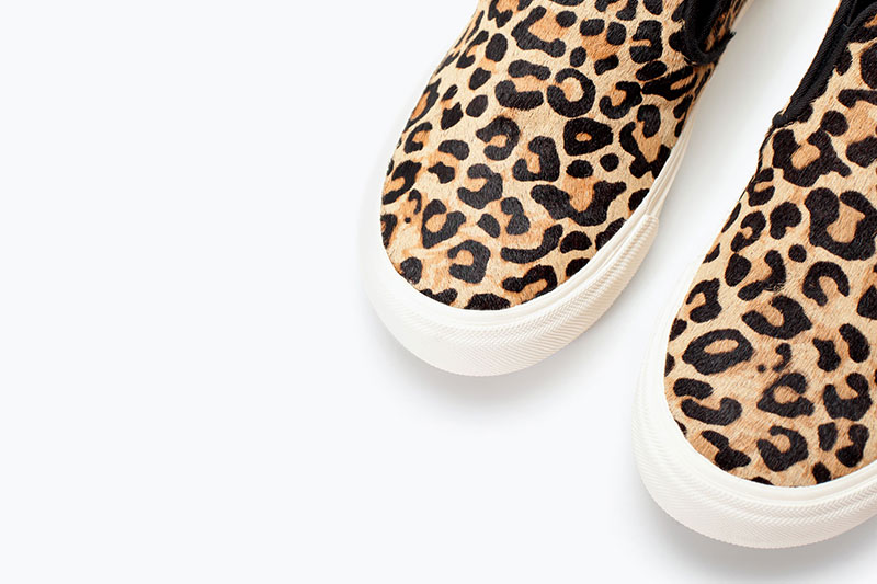 Animal Print Kid Shoes