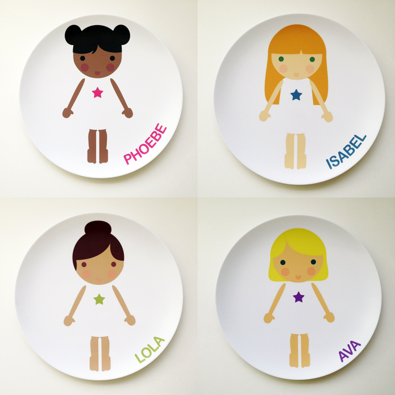& Face Plates - Meal Time Fun