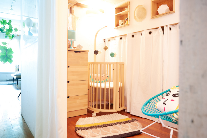 Turning Your Closet Into A Nursery + A Huge Stokke Giveaway