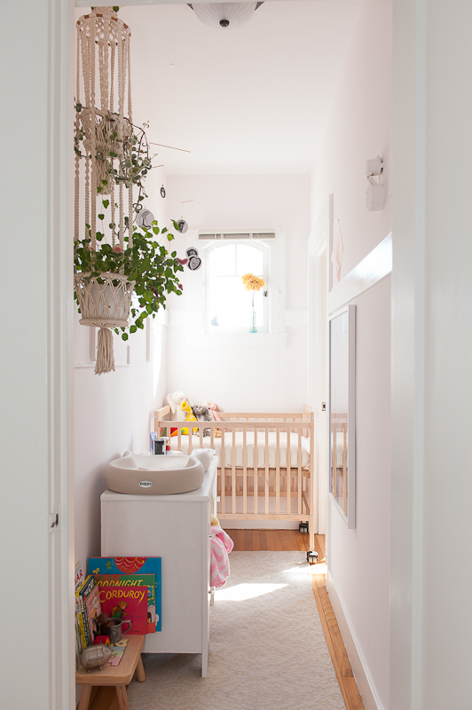 Minimalist Baby Room Small Spaces