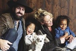Katherine Heigl and Family