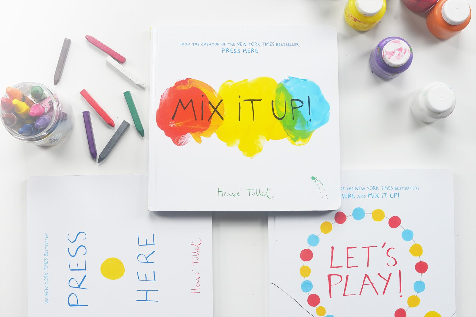 Herve Tullet Books - Mix It Up...