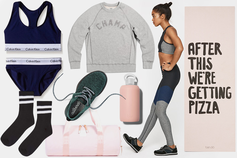 Start building your collection with activewear tops. Find the latest in tank tops and sport shirts. Warm up with racerback tanks and camis, and keep cool throughout your workout in crew neck or V-neck tees.