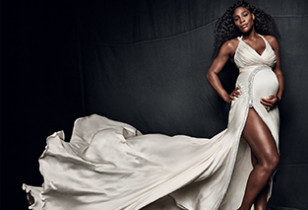 Serena WIlliams Pregnant Vogue 1