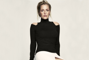 Gillian Anderson On Motherhood