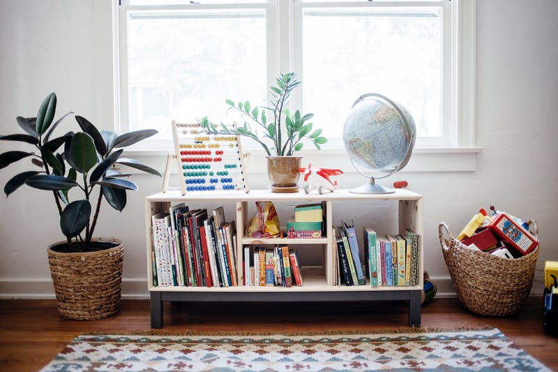 Narrow Living Room Solutions: Montessori Inspired Home