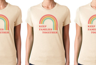 Keep Families Together Tshirt SMALL
