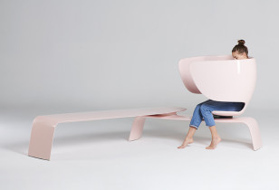 HEER breastfeeding bench