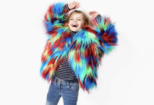FAUX FUR JACKETS FOR KIDS