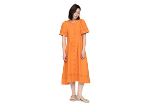 Sea New York Orange Dress